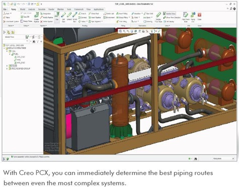 A Quick Introduction to the PTC Creo Piping and Cabling
