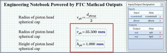 Did You Know? Link PTC Mathcad Prim 3.1 Output to Creo Parametric ...