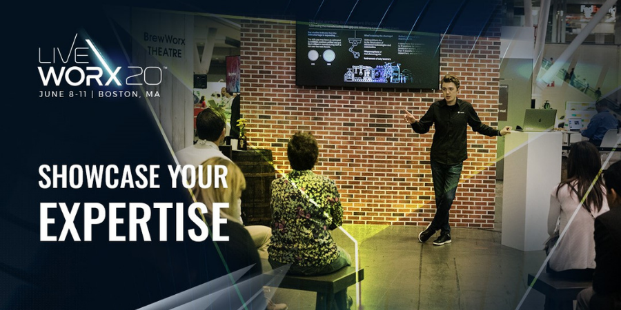 Showcase your expertise at LiveWorx20.