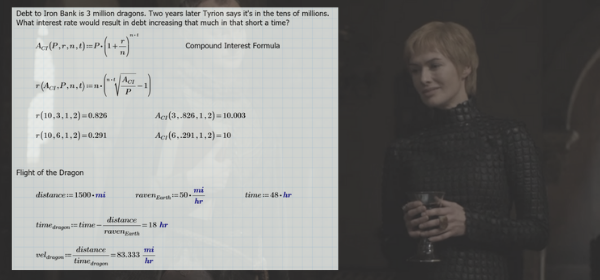 The (Magical) Math & Engineering Behind Game of Thrones
