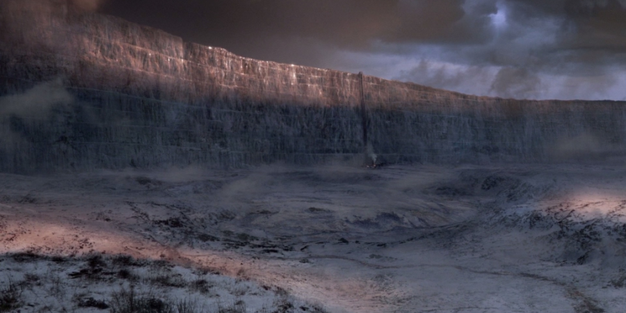 Wall of Westeros via HBO