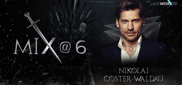 Game of Thrones Star to Host Mix @ 6 at LiveWorx