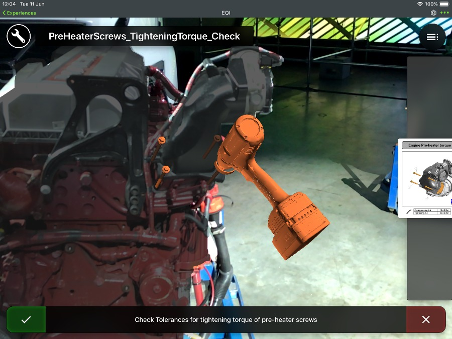 Augmented Reality: A Lens to the Digital Twin | PTC