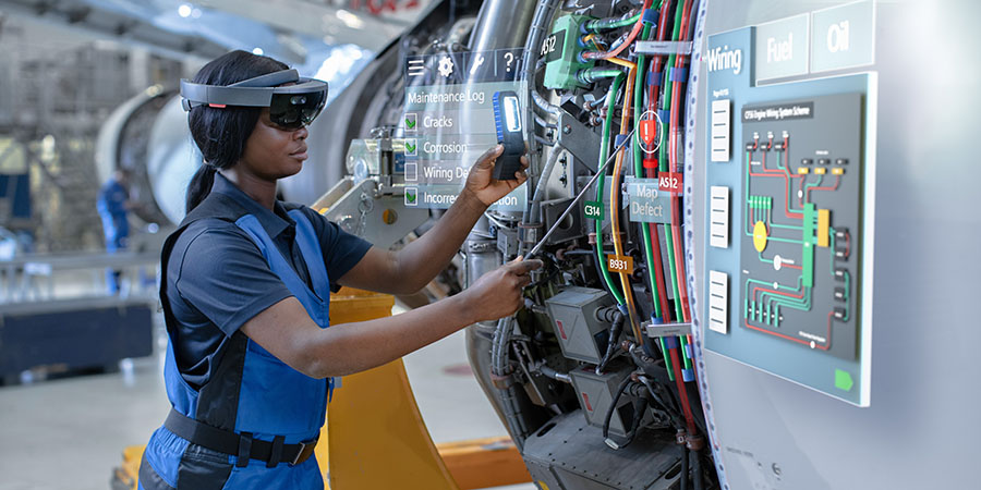Augmented Reality Improving Aerospace Maintenance and Service