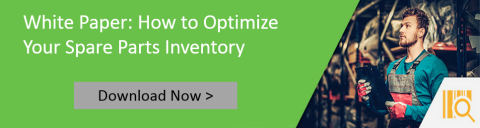 Optimize Your Spare Parts Inventory White Paper