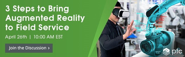 Register for the Webinar, 3 Steps to Bring Augmented Reality to Field Service