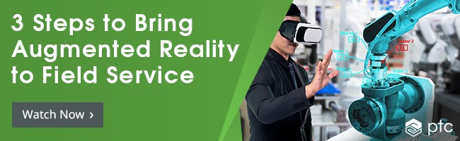 Watch on demand: 3 Steps to Bring Augmented Reality to Field Service