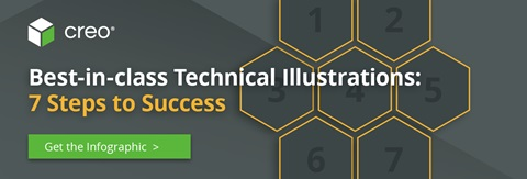 3D technical illustrations
