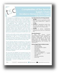 Managing a complex supply chain The Service Council