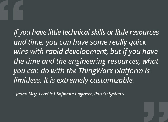 Parata Systems ThingWorx Quote