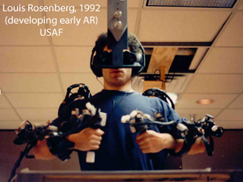 Louis Rosenberg and the first augmented reality sytem