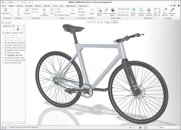 Contest winner designed in Creo CAD software