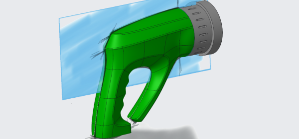 concept design of a hose nozzle