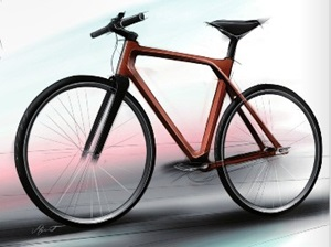 Product Design Contest grand prize winner was a wooden bike