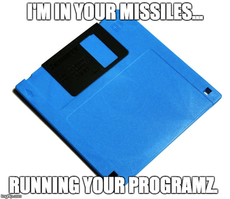 Floppy disk was a great engineering design idea--in its day.