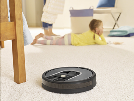 iRobot's Roomba 960 product design is adapted to the IoT