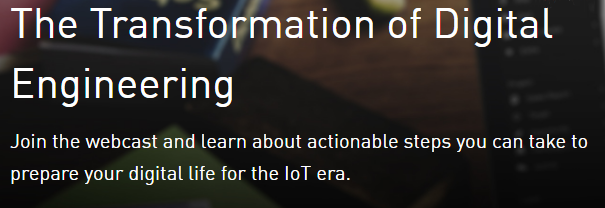 Join iRobot and PTC in the Transformation of Digital Engineering webcast