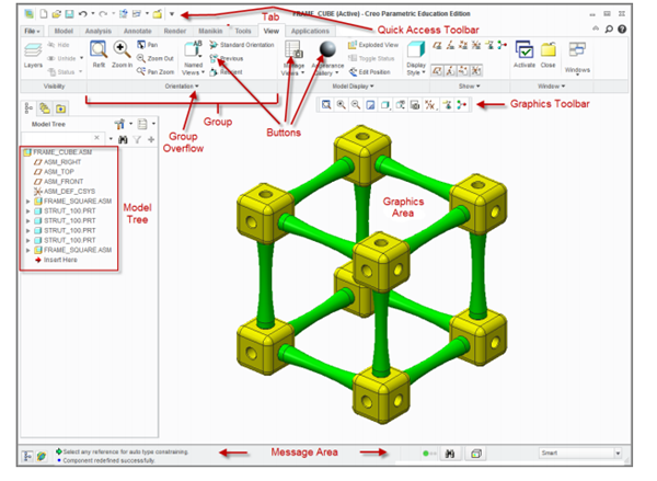 ptc creo primer Ptc creo software was released in june 2011 to replace and supersede ptc's products formerly known as pro/engineer, cocreate, and productview.