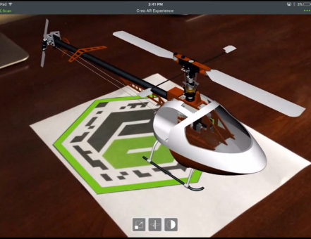 augmented reality helicopter