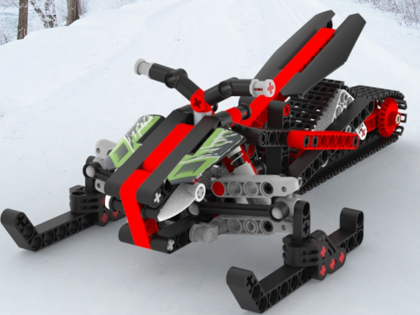 Winter transport, designed in Creo