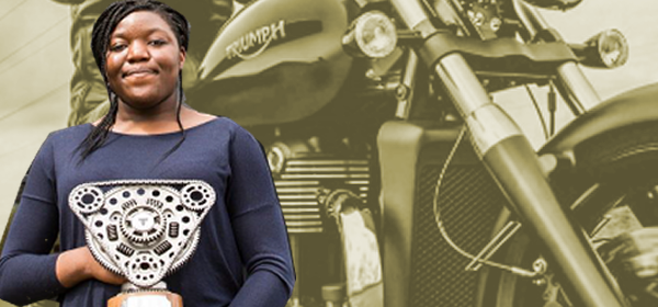 Students Score Dream Internships at Triumph Motorcycles
