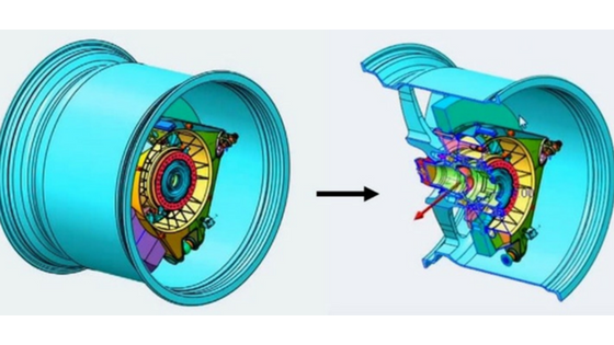 Cross sections help visualize complex parts