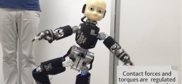 Nothing to Worry About: Adorable Toddler Robot Now Learning Martial Arts