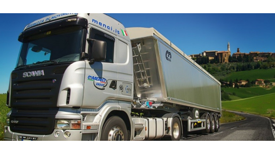 Aluminum truck from Menci, a Creo customer