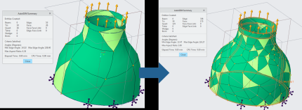 Use Creo 5.0 to automesh models for simulation