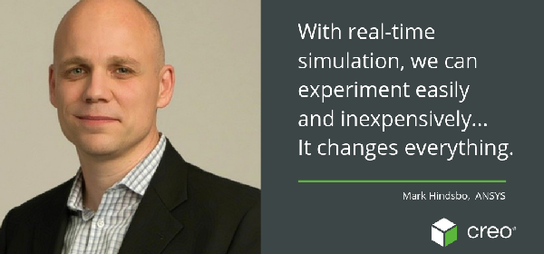 ANSYS' Mark Hindsbo Talks Live Simulation: It's Really That Easy and Fast
