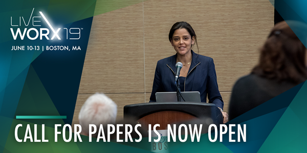 Submit your presentation to LiveWorx