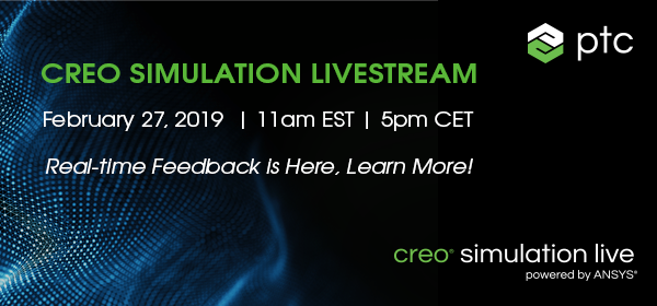[Party]  Join Us Online for the Creo Simulation Live Launch