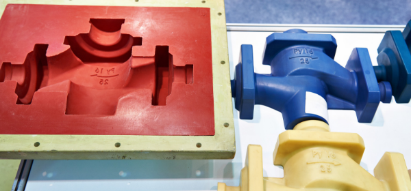 Mold created for traditional injection molding process.