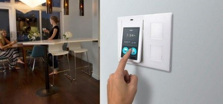 An internet-connected thermostat
