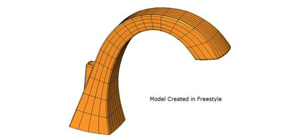 Freestyle model-trimmed