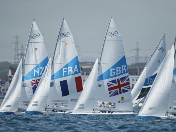 sailboats in the 2012 Olympics