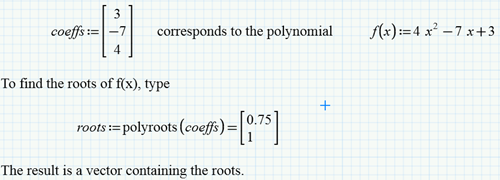 My Three Favorite Worksheets Root Finding in Mathcad – Polynomial Equations Worksheet