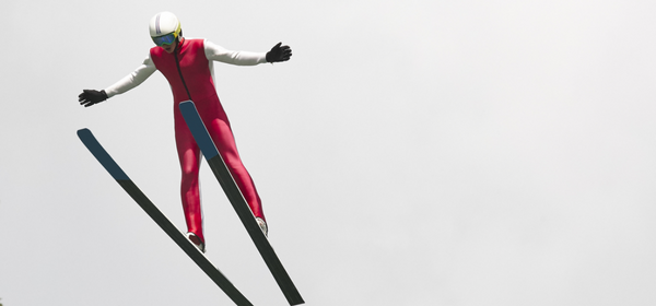 What If Olympic Ski Jumpers Wore Capes?