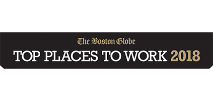 The Boston Globe Names PTC a Top Place to Work for 2018