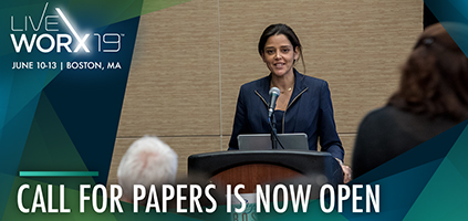 LiveWorx 19 Call for Papers is open now through October 12