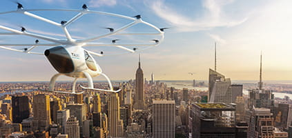 PTC PLM to Enable Development of Volocopter's Autonomous Air Taxis