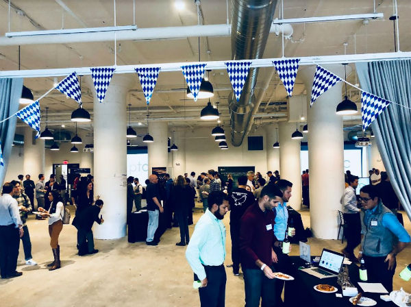 PTC and MassChallenge hosted the Oktoberfest Party & Tech Showcase