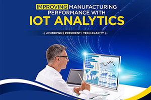 Improving Manufacting Performance with IoT Analytics