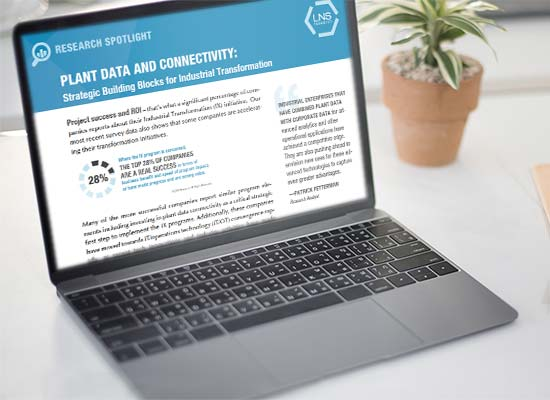 Plant Data and Connectivity White Paper