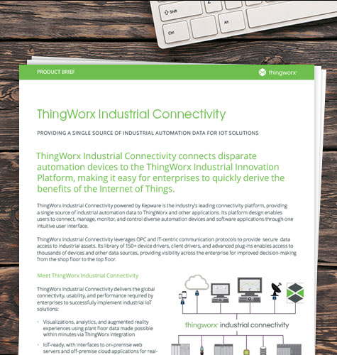 ThingWorx Industrial Connectivity