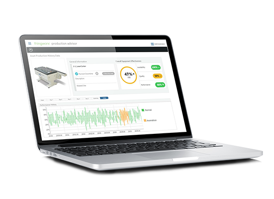 Asset Advisor is one of many ThingWorx solutions providing real-time operational insights
