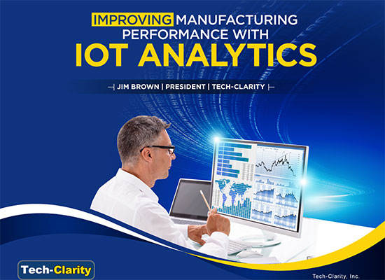 Improving Manufacturing Performance with IOT Analytics