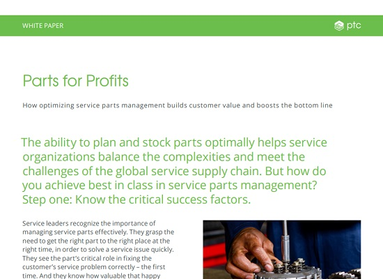 Optimize Parts Management to Improve Customer Service