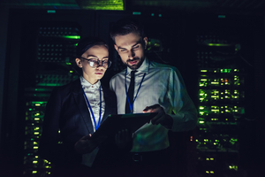 iiot cyber security data center technicians
