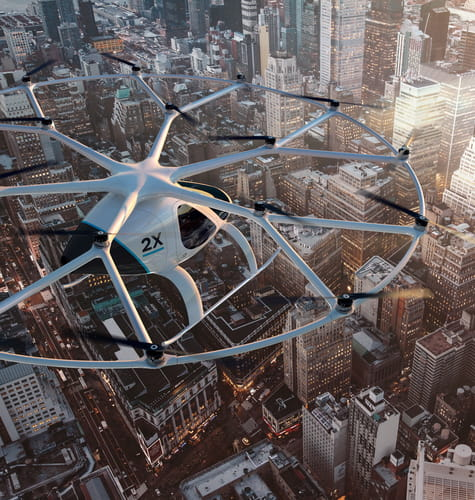 volocopter airframes